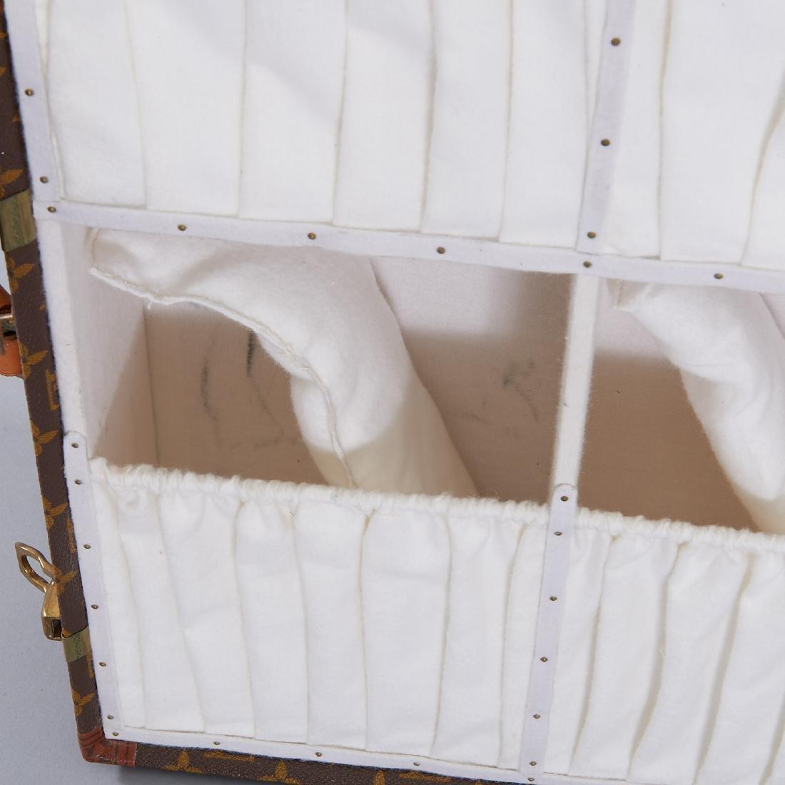 Louis Vuitton Monogram hard sided shoe trunk - 8