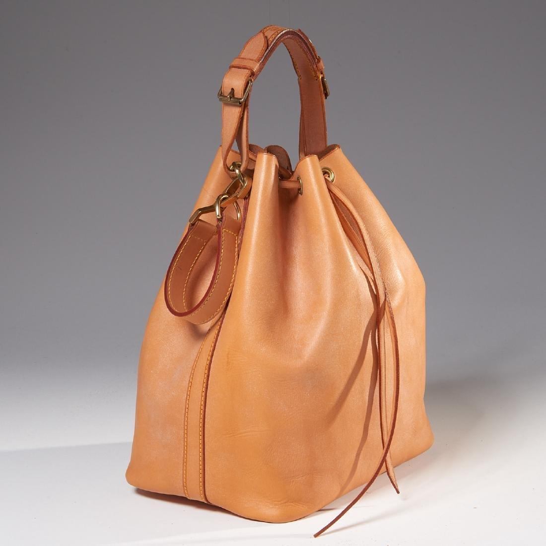 Louis Vuitton all leather drawstring handbag - 2