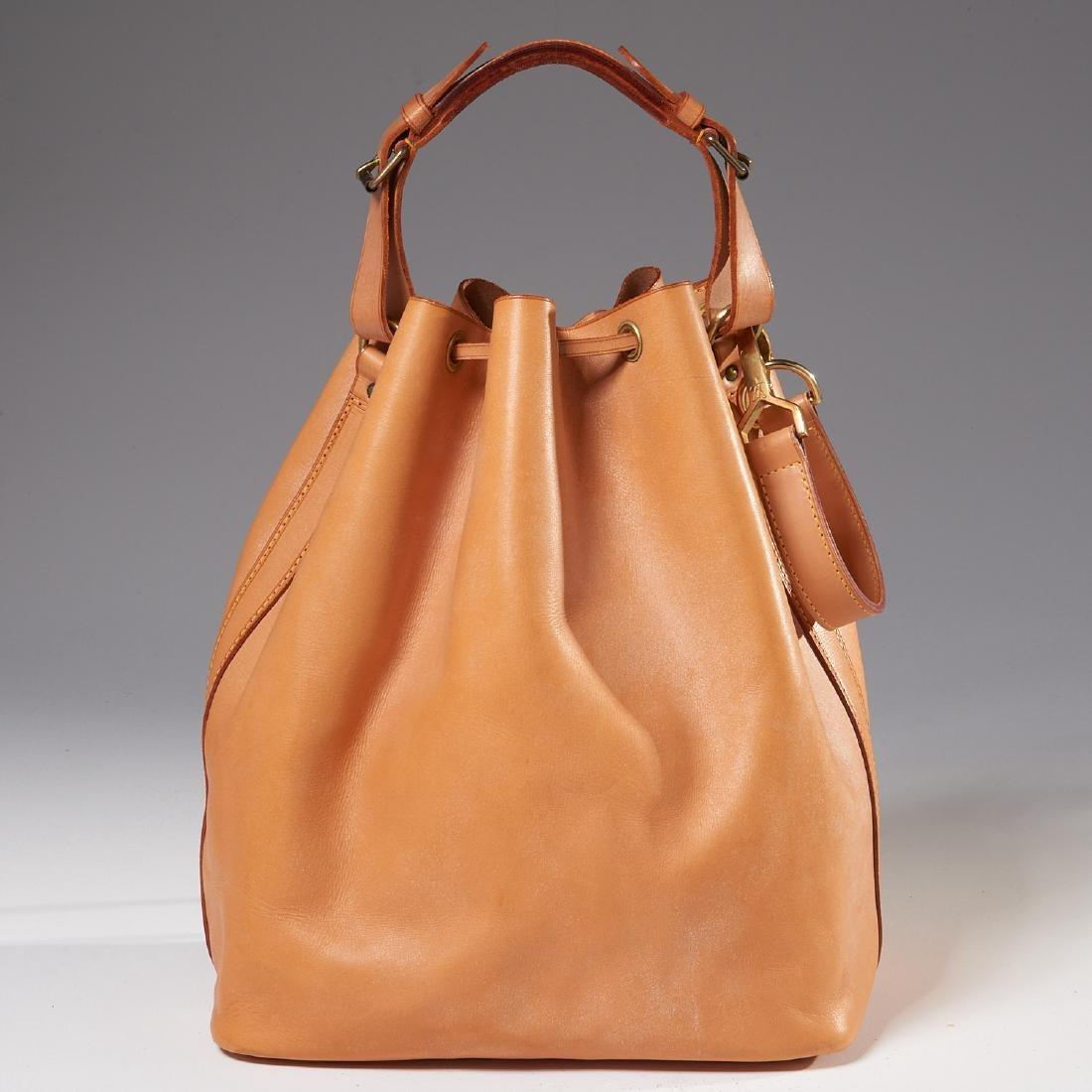 Louis Vuitton all leather drawstring handbag - 4