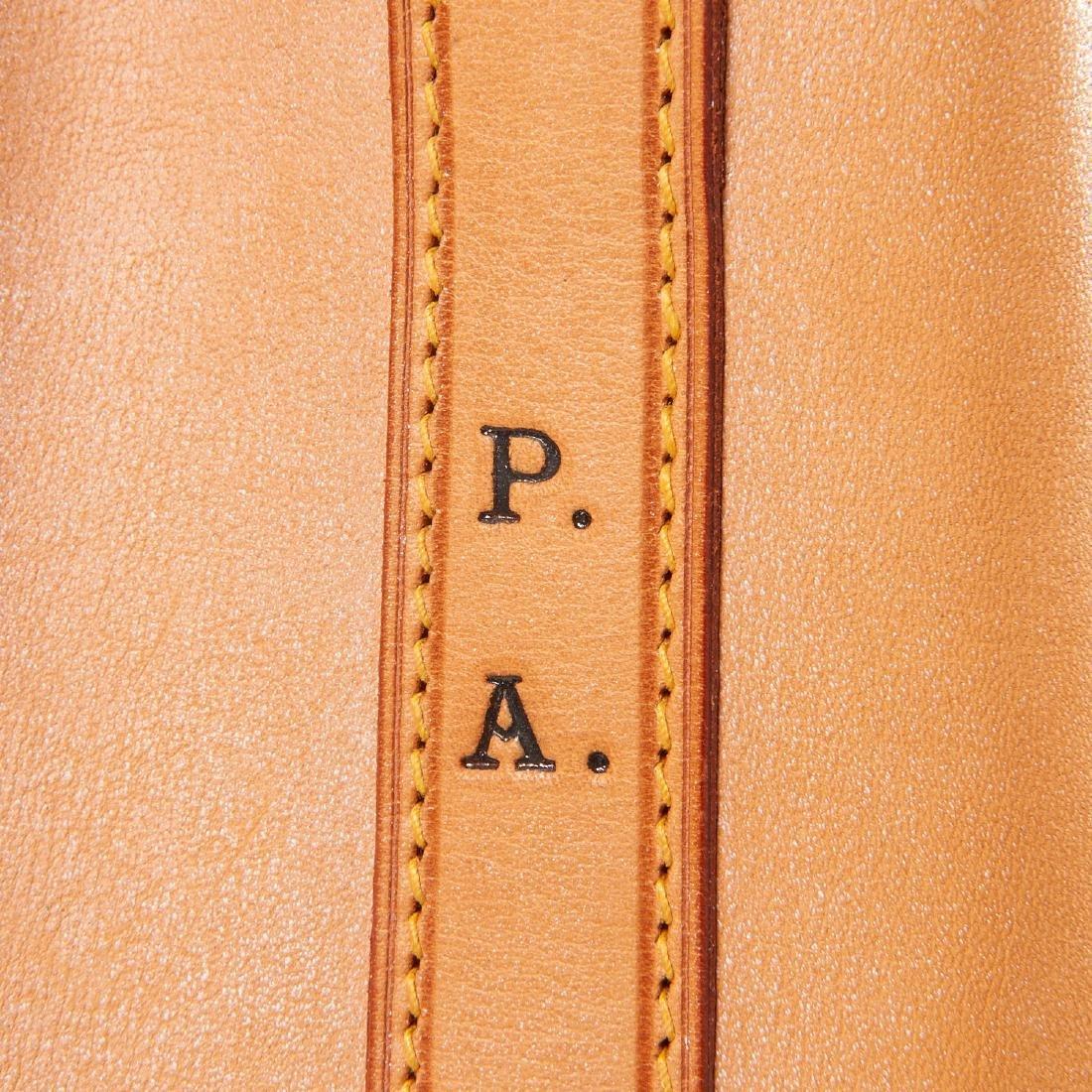 Louis Vuitton all leather drawstring handbag - 5