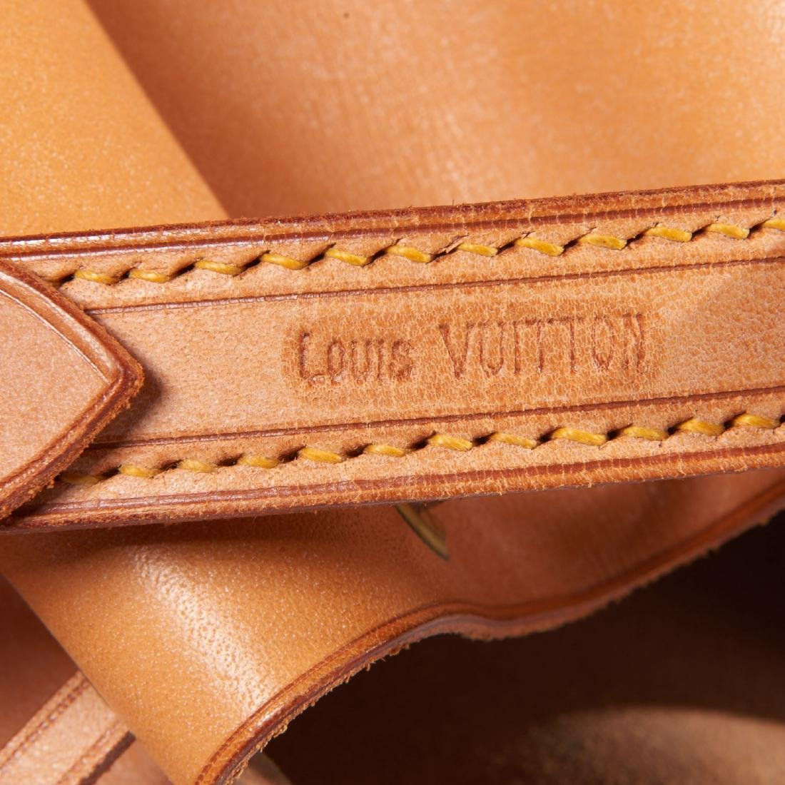 Louis Vuitton all leather drawstring handbag - 6