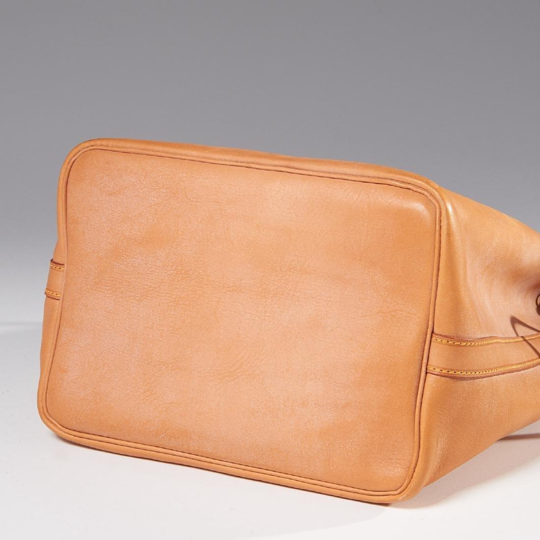 Louis Vuitton all leather drawstring handbag - 8