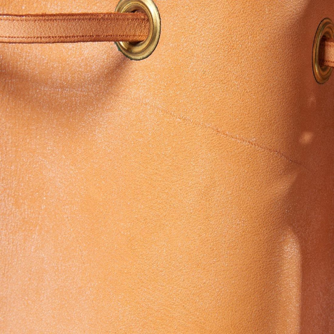 Louis Vuitton all leather drawstring handbag - 9