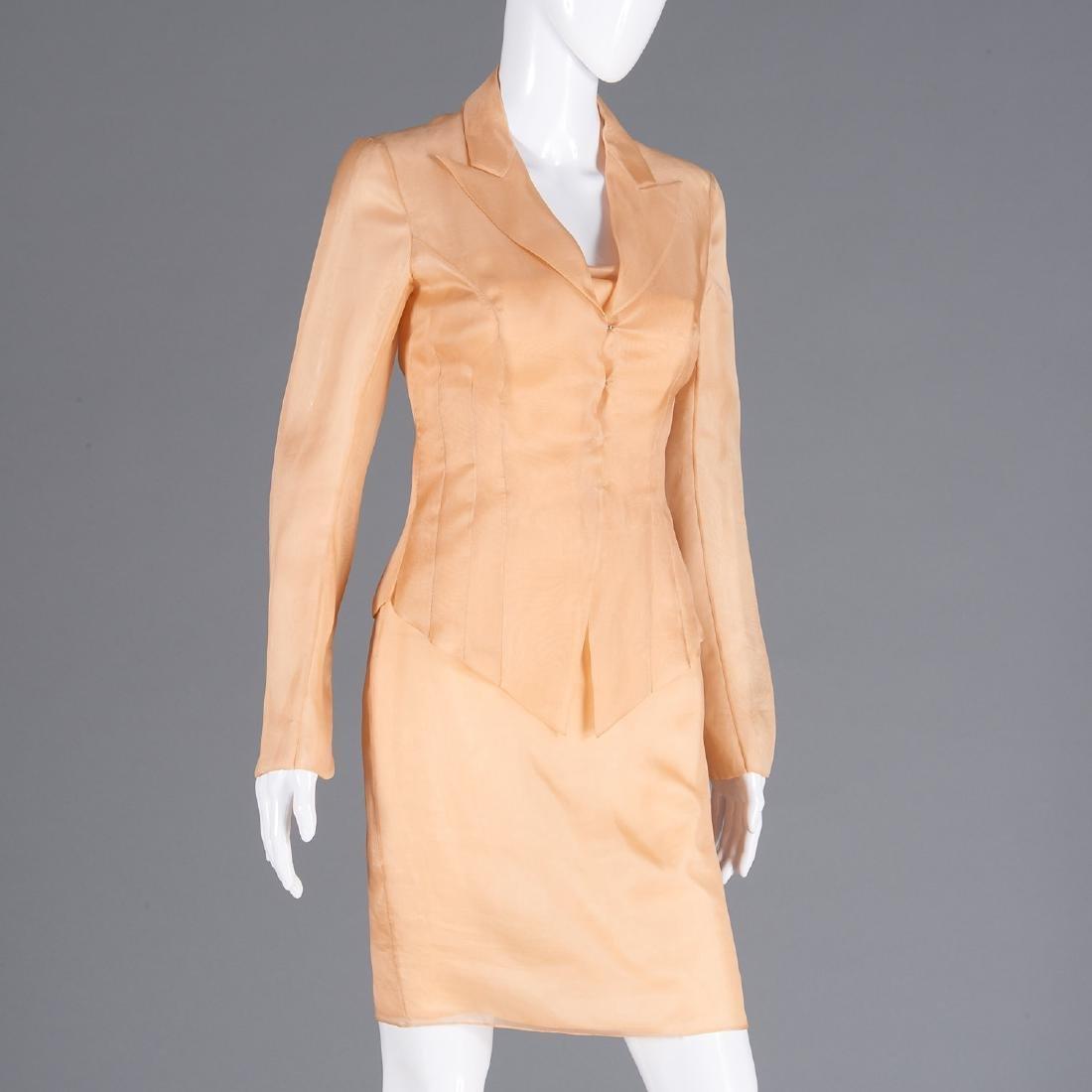 Richard Tyler Couture silk dress, jacket, & pants