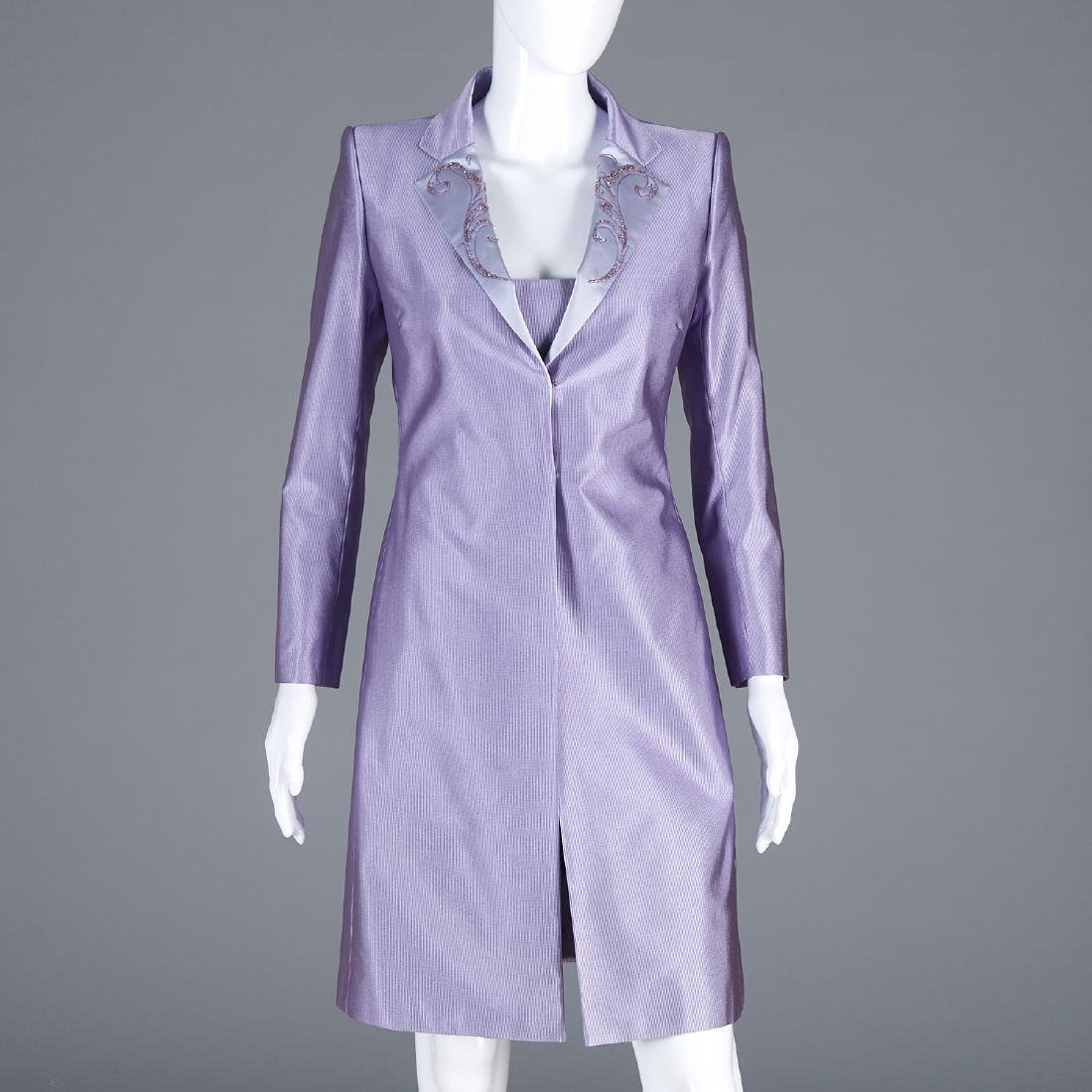 Richard Tyler Couture suit dress and evening coat
