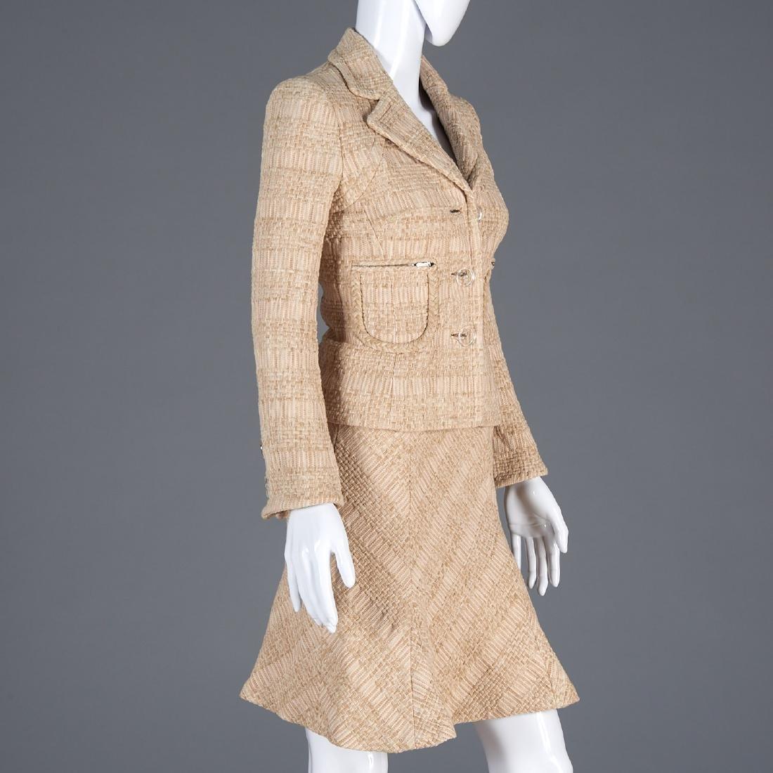 Tuleh knit blend suit skirt