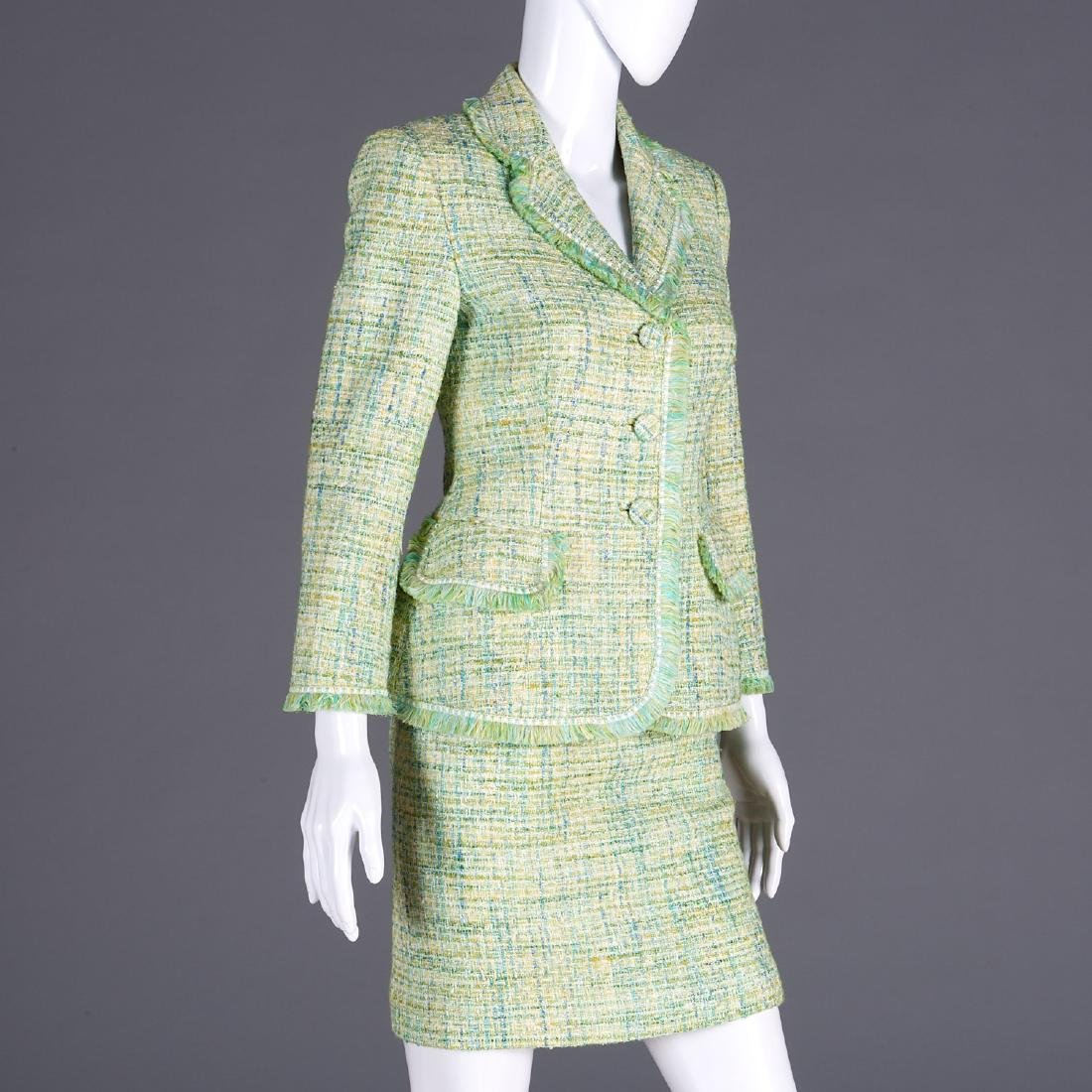 Luisa Beccaria knit skirt suit