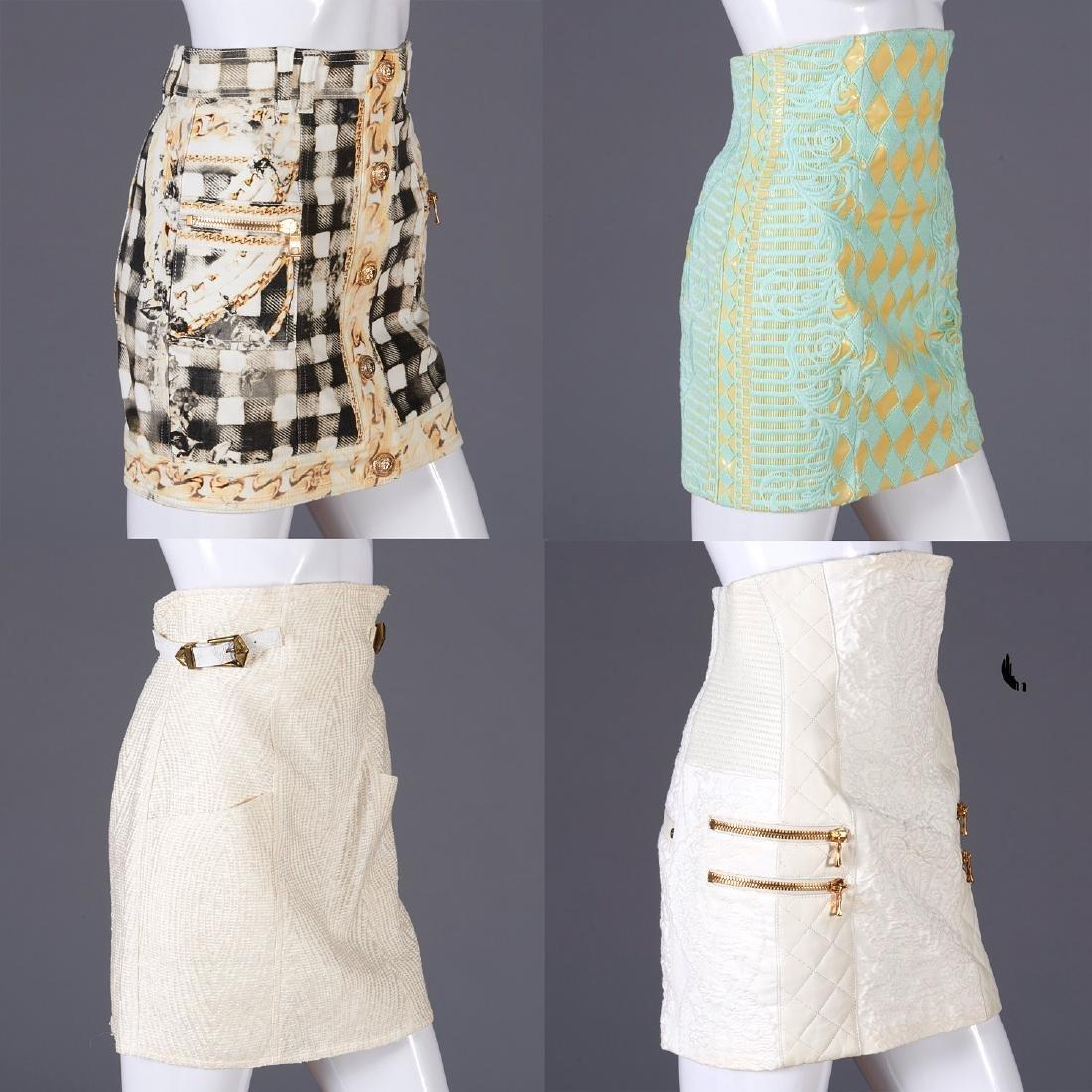 Group of Balmain Paris skirts