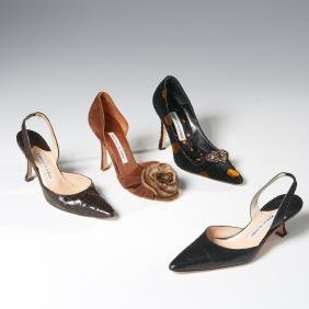 Group Manolo Blahnik Shoes