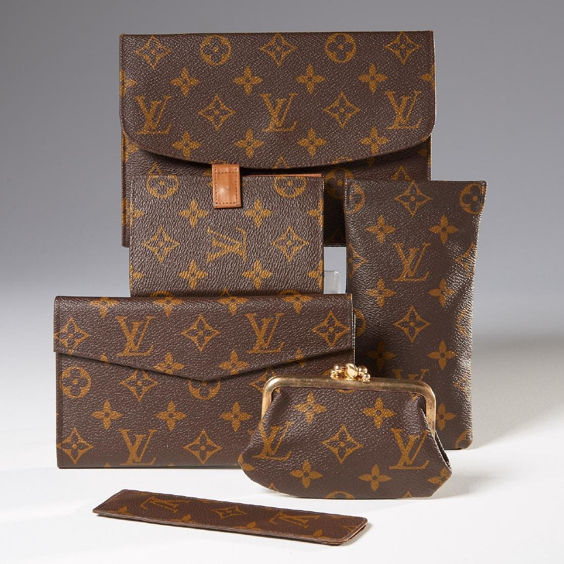 Group of Louis Vuitton Monogram accessories