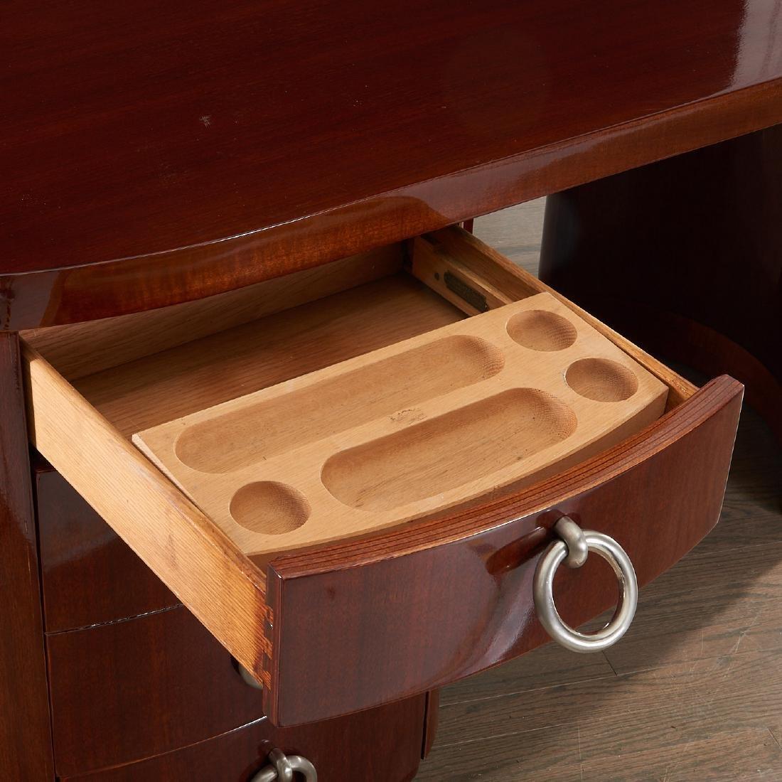 Gilbert Rohde style mahogany desk - 2