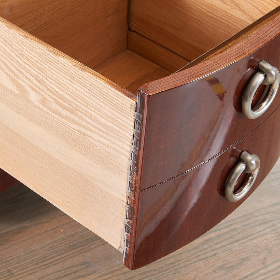 Gilbert Rohde style mahogany desk - 4