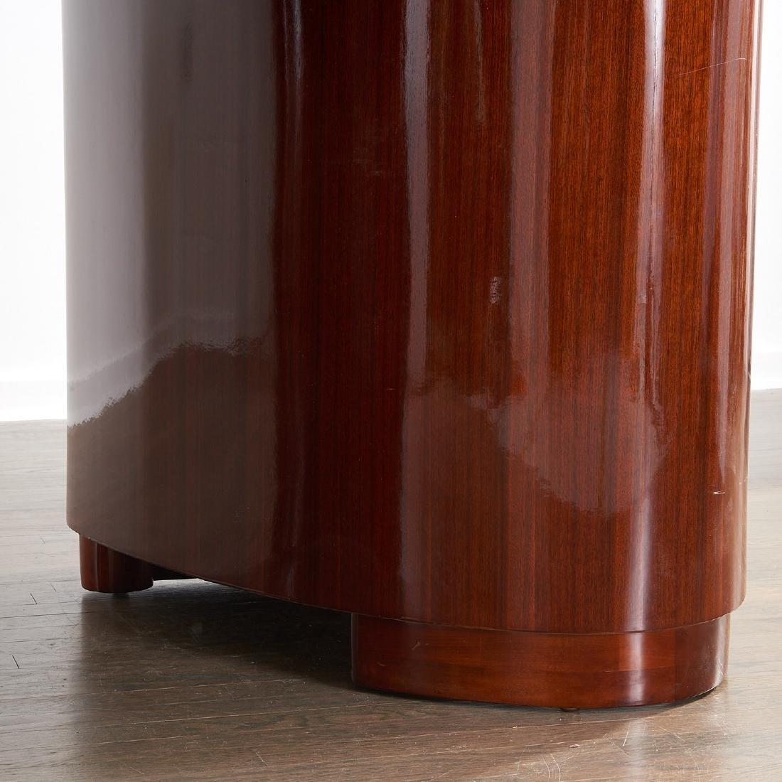 Gilbert Rohde style mahogany desk - 6