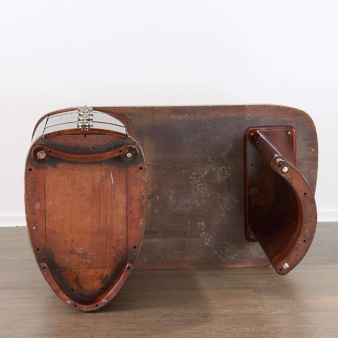 Gilbert Rohde style mahogany desk - 8