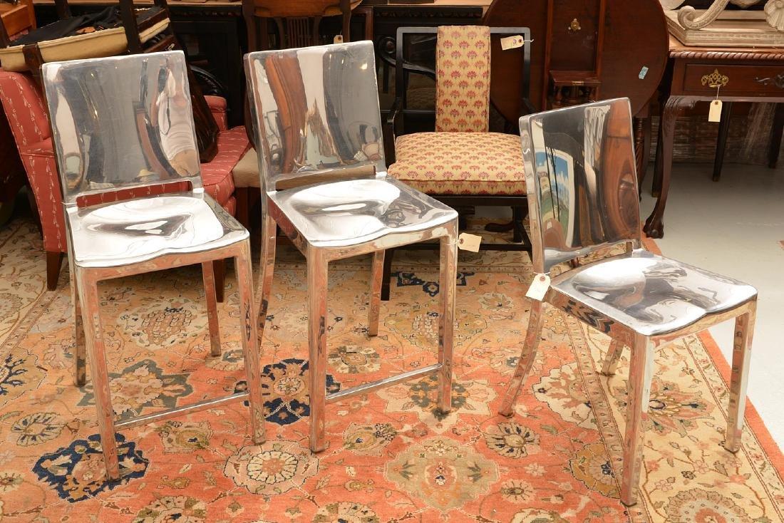 Group Philippe Starck Hudson aluminum seating
