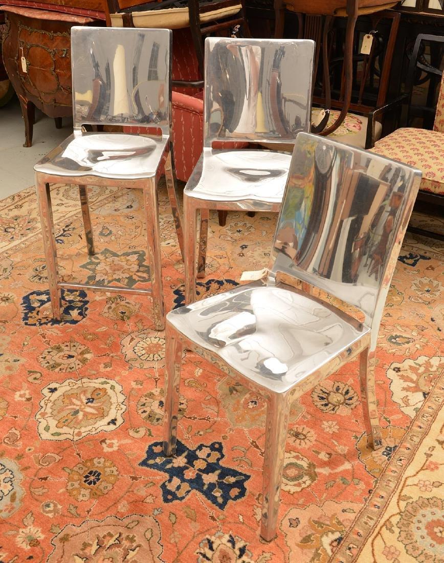 Group Philippe Starck Hudson aluminum seating - 2
