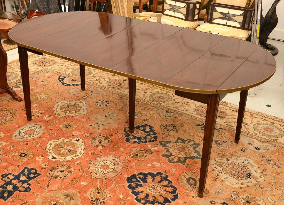 Louis XVI style mahogany dining table