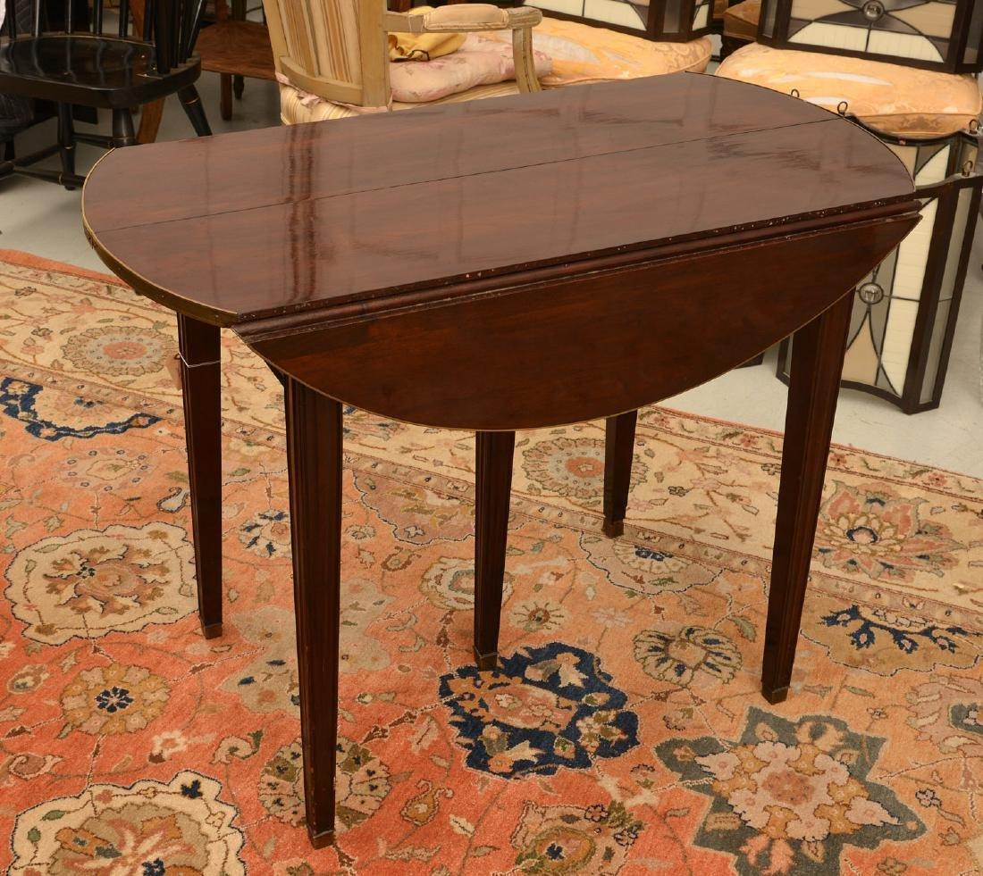 Louis XVI style mahogany dining table - 3