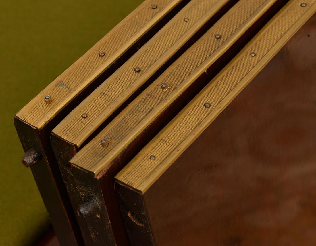 Louis XVI style mahogany dining table - 6