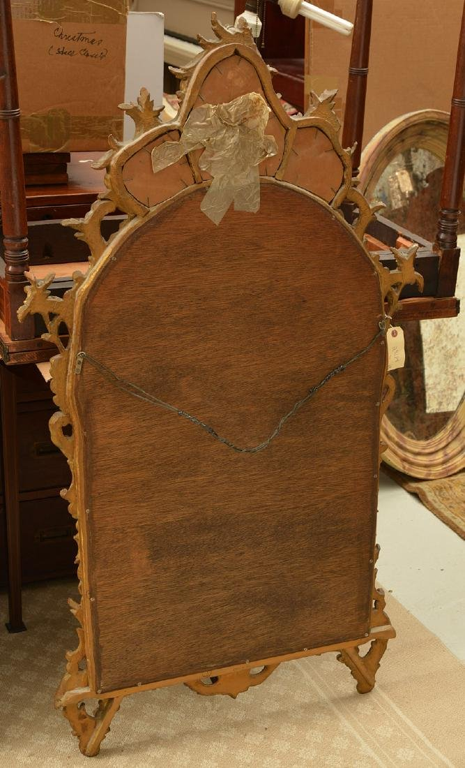 Italian Rococo style carved giltwood mirror - 5