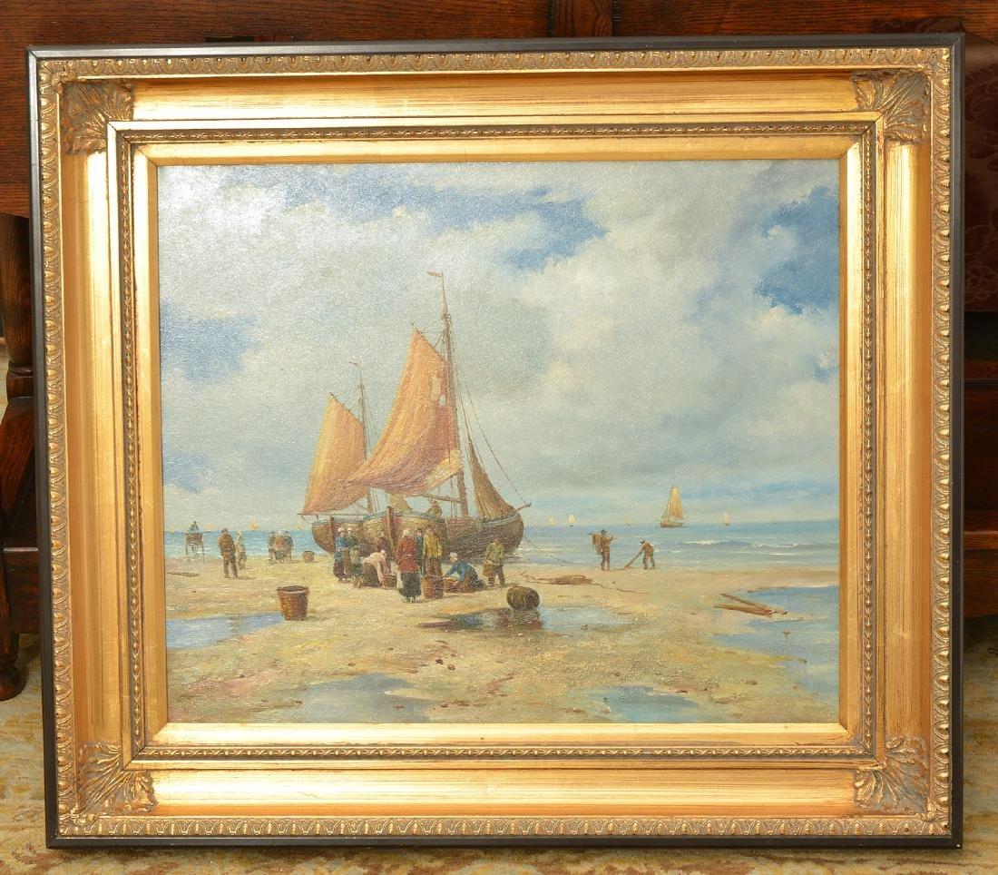 Van Evers, painting
