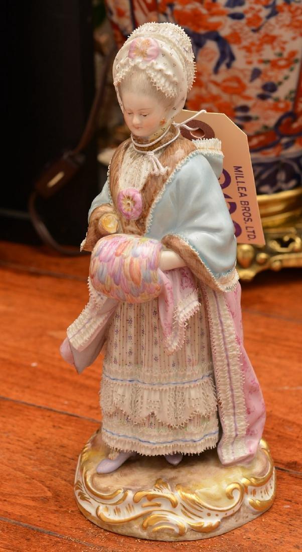 Meissen hand-painted porcelain figure