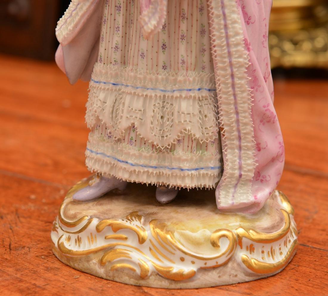 Meissen hand-painted porcelain figure - 3