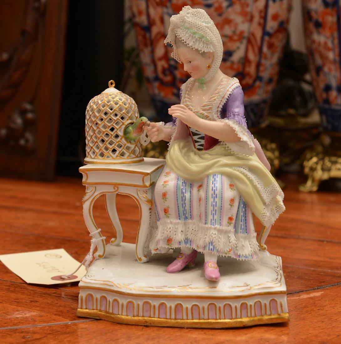 Meissen hand-painted porcelain figure - 2