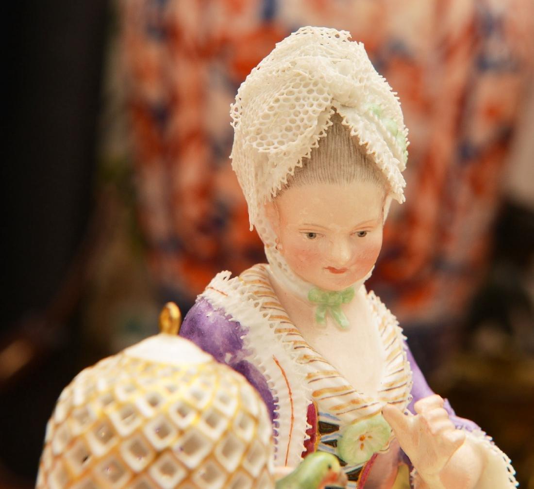 Meissen hand-painted porcelain figure - 4