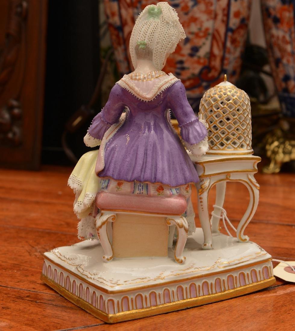 Meissen hand-painted porcelain figure - 5