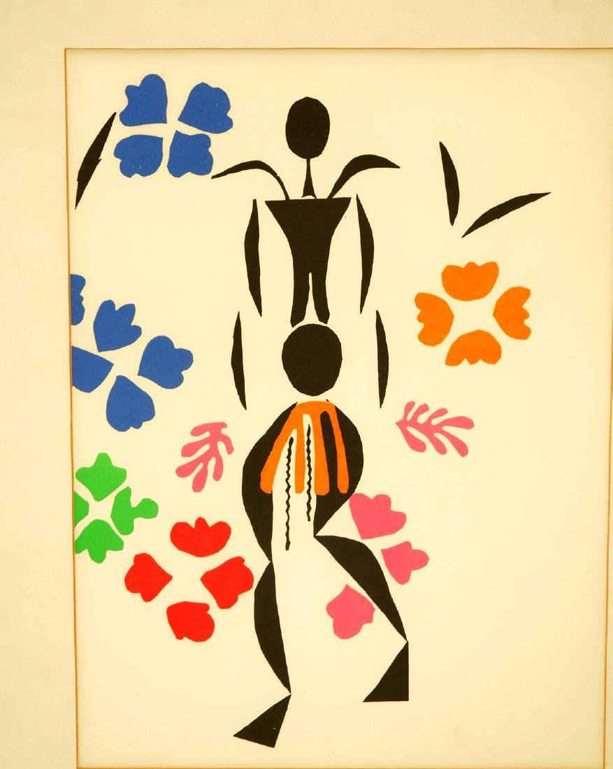 After Henri Matisse, color lithograph - 2