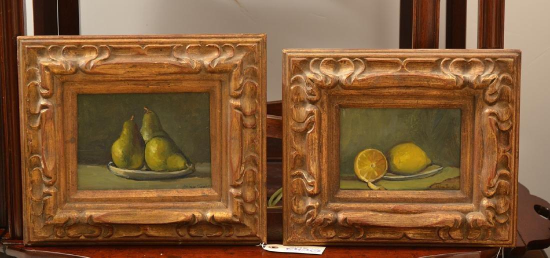 Helen Jacobs, (2) paintings