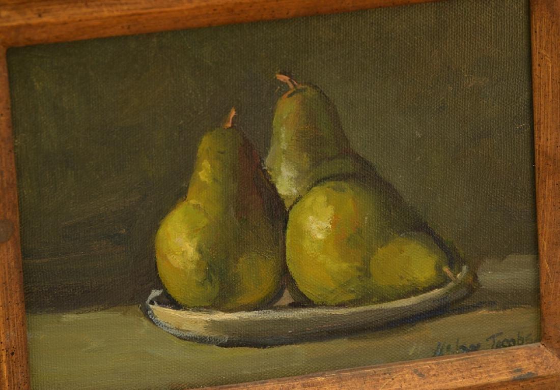 Helen Jacobs, (2) paintings - 2