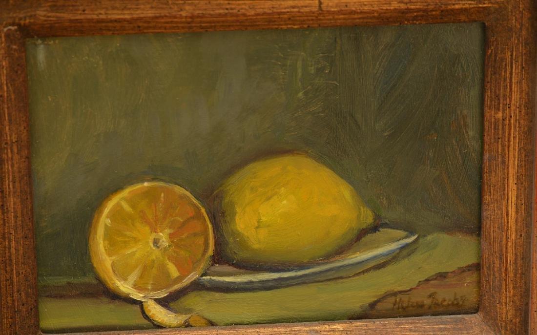 Helen Jacobs, (2) paintings - 3