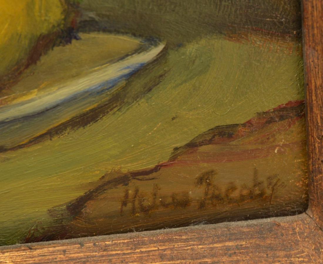 Helen Jacobs, (2) paintings - 4