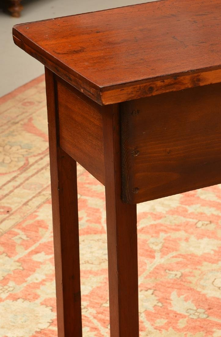 Uniquely proportioned English side table - 6