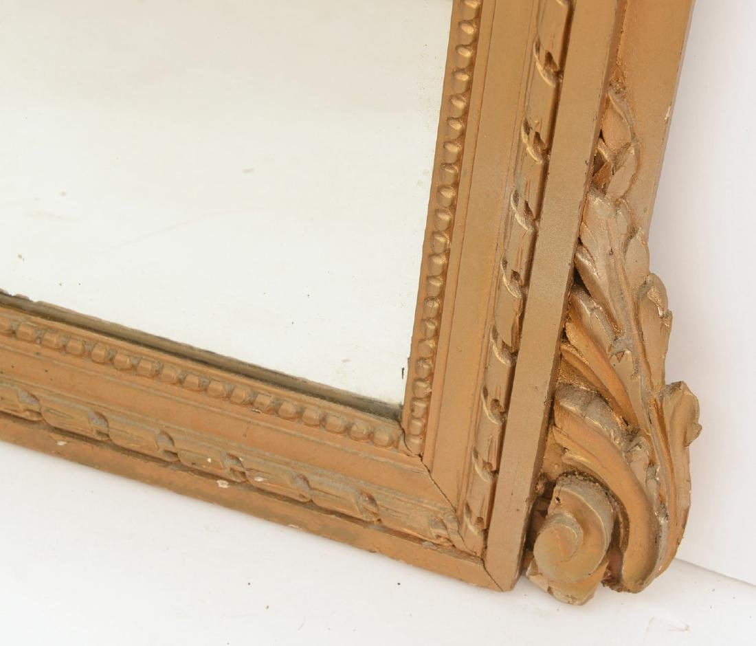 Federal style carved gilt wood mirror - 4