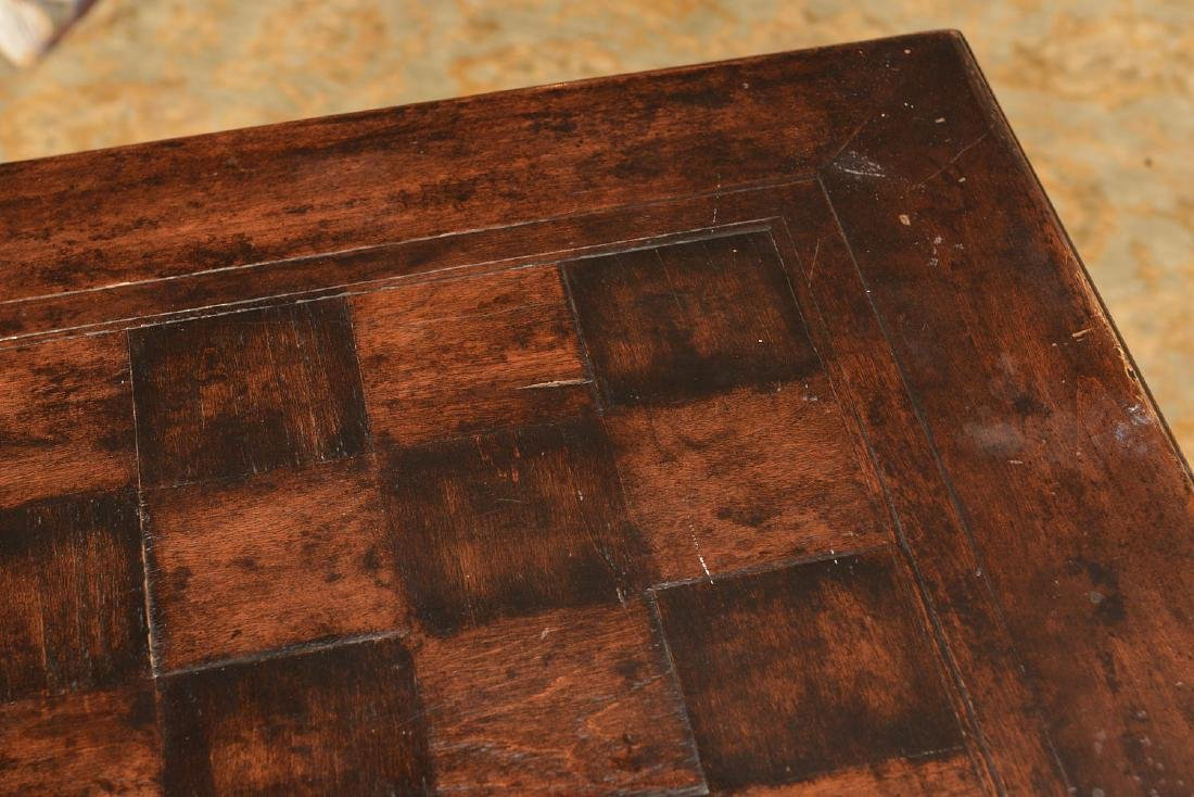 French style parquetry games table - 6