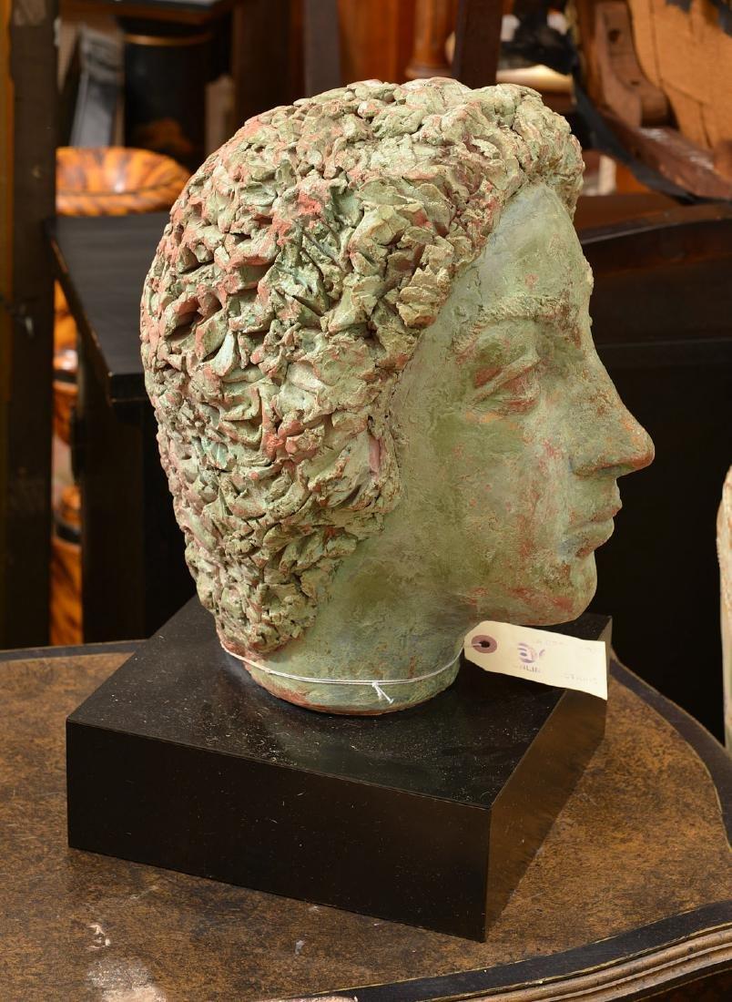 T. Shayne, large head sculpture - 2