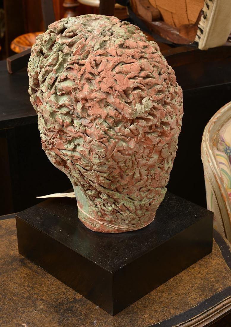 T. Shayne, large head sculpture - 4