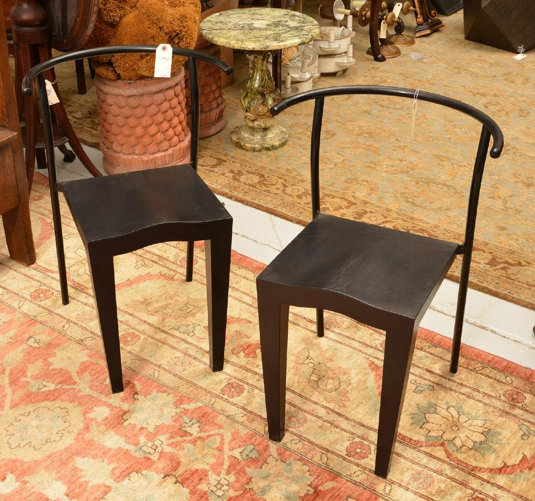 Pair Philippe Starck, Dr. Glob chairs