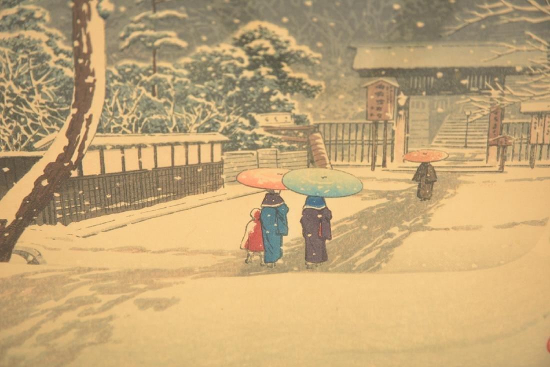 Kawase Hasui, woodblock print - 6