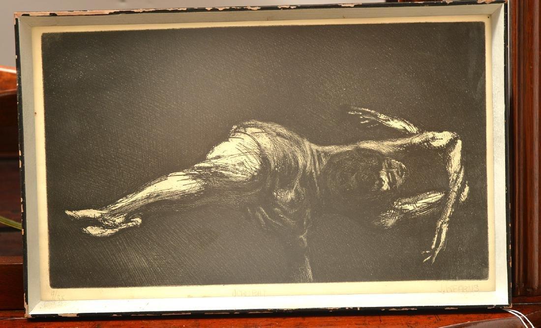 James Kearns, etching