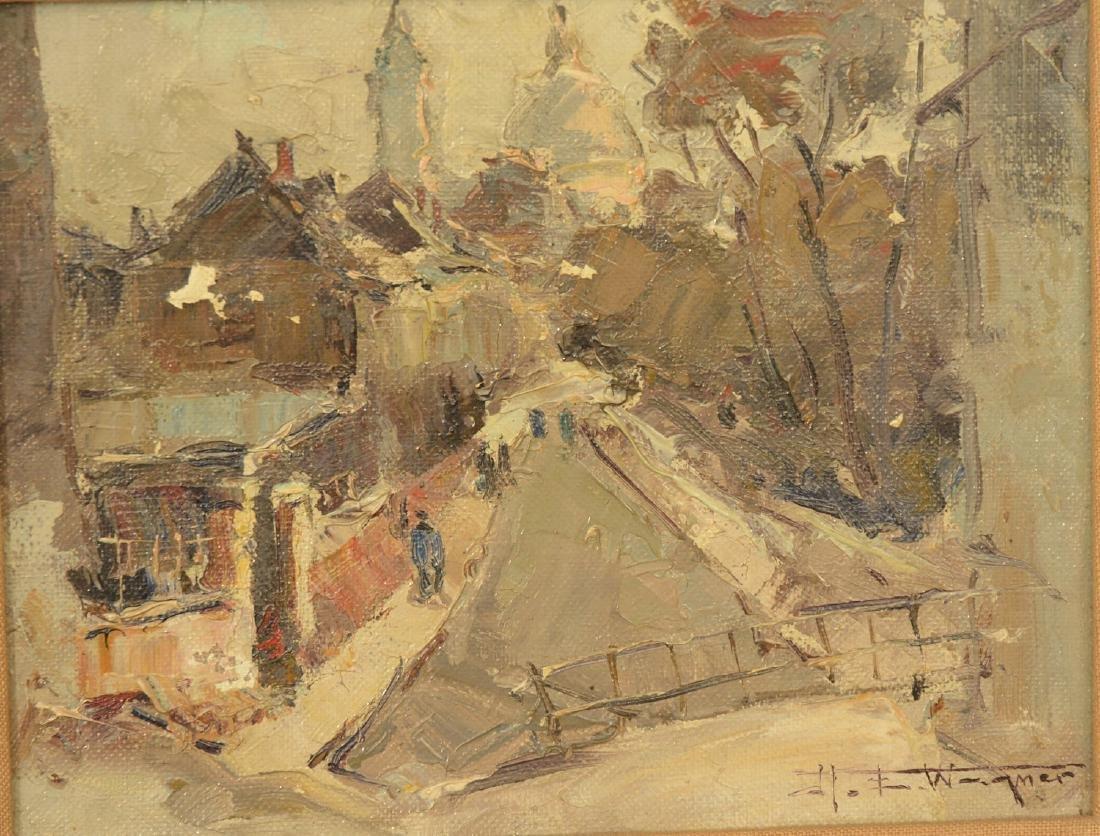 Hermann Edouard Wagner, painting - 2