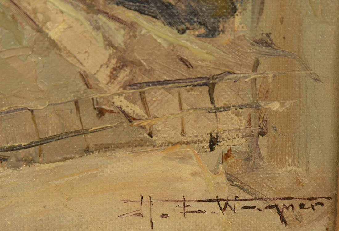 Hermann Edouard Wagner, painting - 4