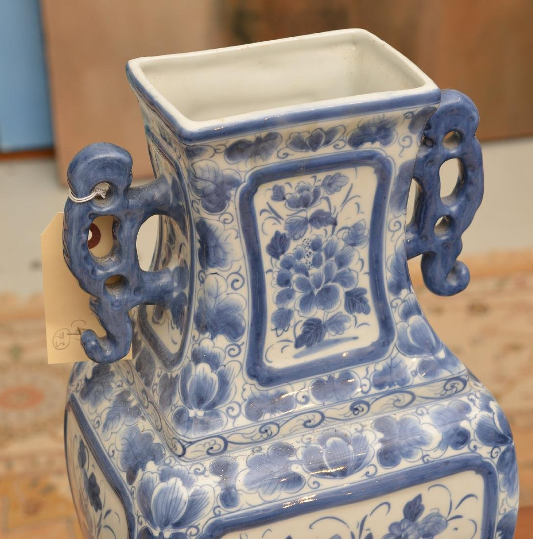 Maitland-Smith, (4) blue and white porcelains - 2