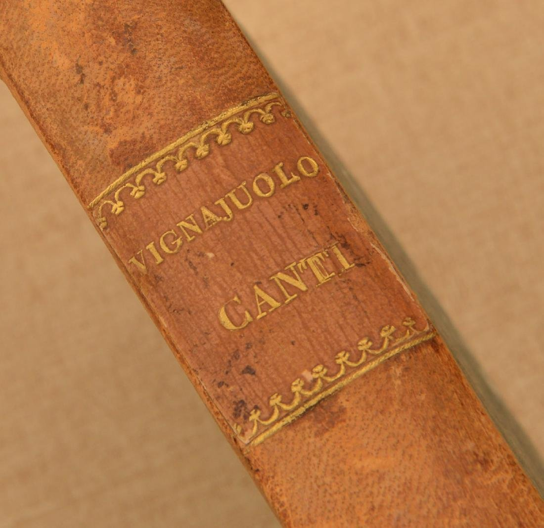 """Book: Grillo, """"Canti Dieci d'Entante Vignaiuolo"""" - 2"""