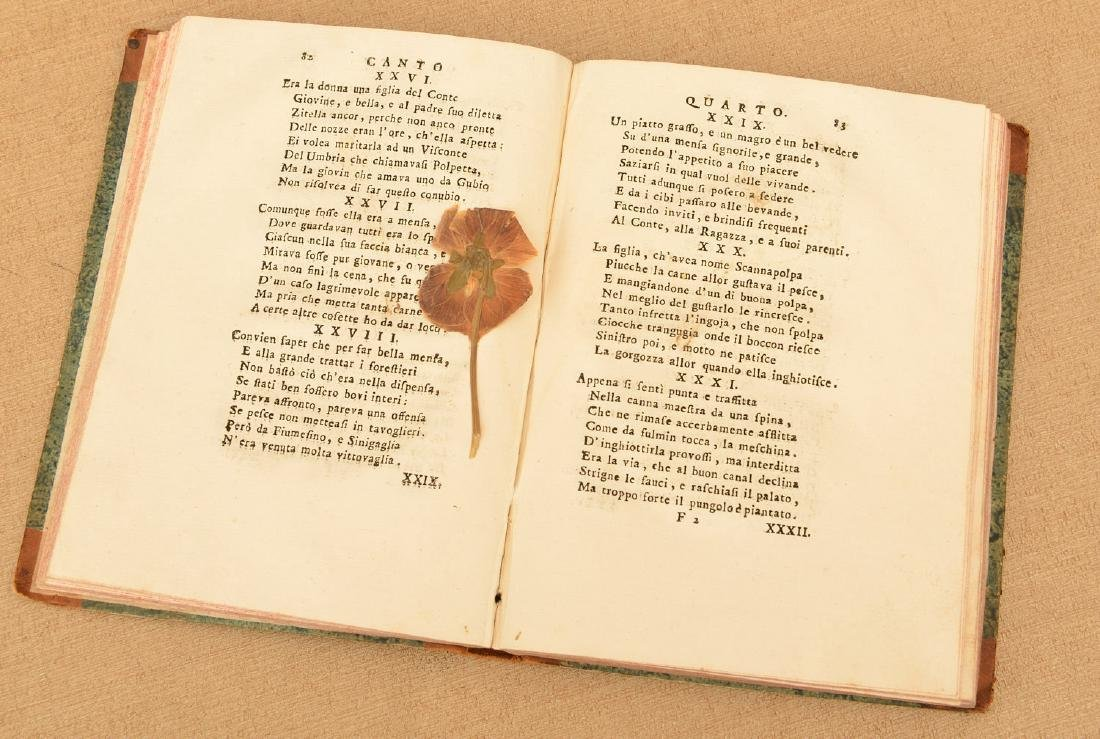 """Book: Grillo, """"Canti Dieci d'Entante Vignaiuolo"""" - 3"""
