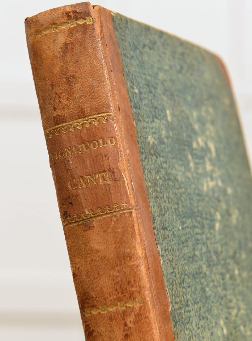 """Book: Grillo, """"Canti Dieci d'Entante Vignaiuolo"""" - 6"""