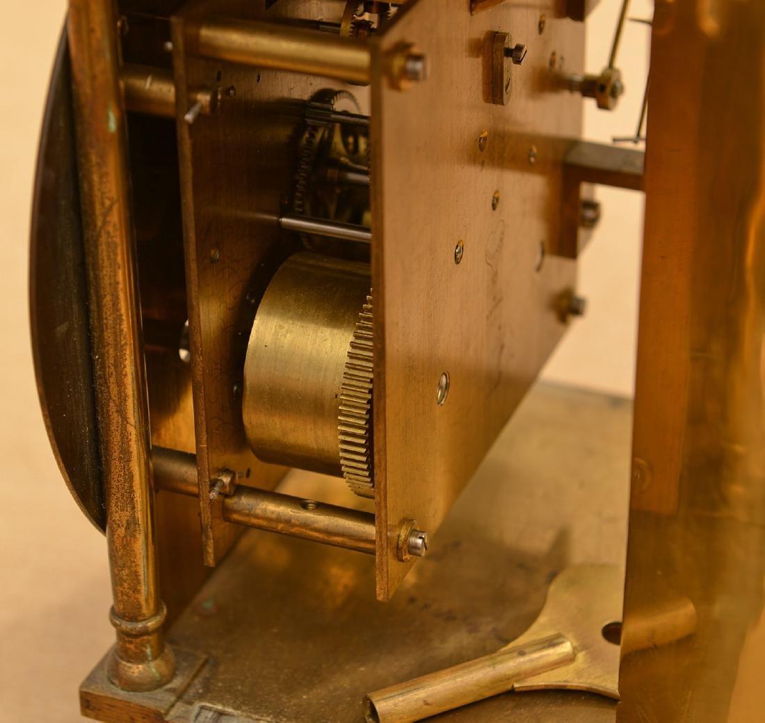 Charles II style brass lantern clock - 3